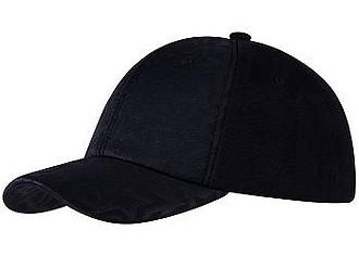 STARMA čepka s hvězdičkami, černá - reklamní čepice