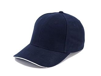Trendy čepice se sendvičovým kšiltem, námořní modrá - reklamní čepice
