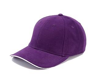 Trendy čepice se sendvičovým kšiltem, fialová - reklamní čepice