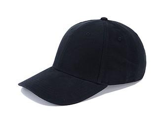 Čepice s kšiltem, černá - reklamní čepice