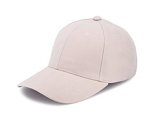 Čepice s kšiltem, béžová - reklamní čepice