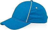 Klasická šestipanelová čepice Slazenger, světle modrá