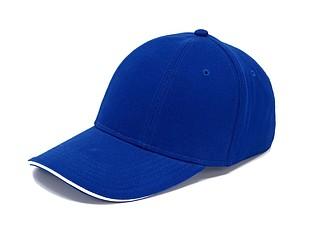 Šestipanelová čepice se sandwich kšiltem, královská modrá