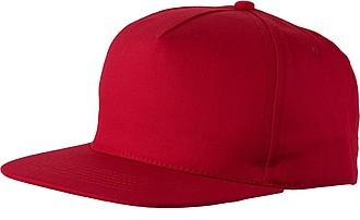 Baseballová čepice, červená - reklamní čepice