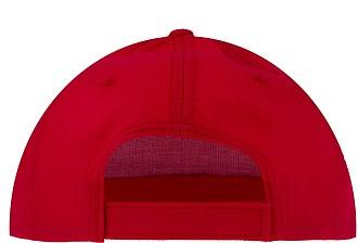 Baseballová čepice, červená