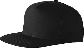 Baseballová čepice, černá - reklamní čepice