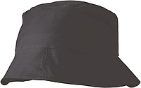 CAPRIO Plážový klobouček, černá - reklamní čepice