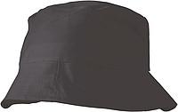 CAPRIO Plážový klobouček, černý - reklamní čepice