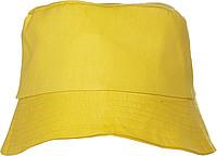 CAPRIO Plážový klobouček, žlutý