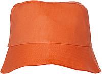 CAPRIO Plážový klobouček, oranžový - reklamní čepice