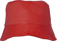 CAPRIO Plážový klobouček, červený - reklamní čepice