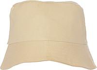CAPRIO Plážový klobouček, béžový - reklamní čepice