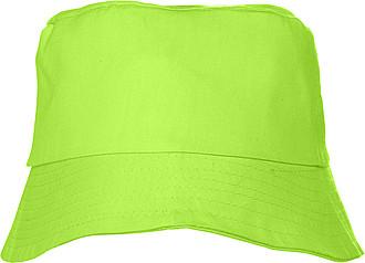 Plážový klobouček, limetkový
