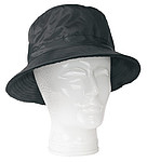 oboustranný klobouk, fleece, nylon, černá