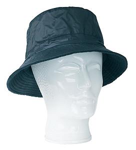 oboustranný klobouk, fleece, nylon, modrá