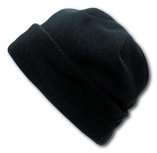 BLANC fleecová čepice, černá