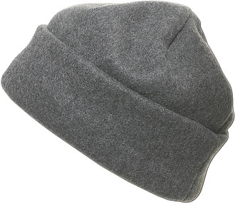 BLANC fleecová čepice, šedá - reklamní čepice