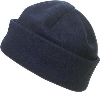 BLANC fleecová čepice, modrá