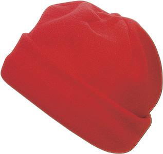 BLANC fleecová čepice, červená - reklamní čepice