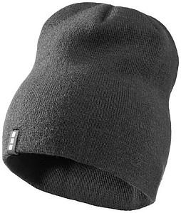 DUJEK Dvouvrstvá akrylová čepice Elevate, tmavě šedá - reklamní čepice
