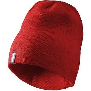 DUJEK Dvouvrstvá akrylová čepice Elevate, červená