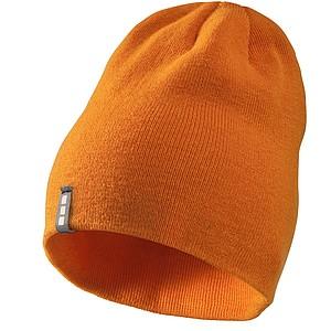 DUJEK Dvouvrstvá akrylová čepice Elevate, oranžová
