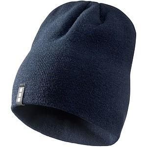 DUJEK Dvouvrstvá akrylová čepice Elevate, námořní modrá - reklamní čepice