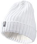TAKATO Pletená čepice Elevate s fleecovou podšívkou, bílá