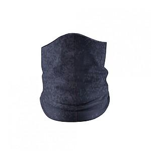 Multifunkční šátek s překrytím nosu, černá