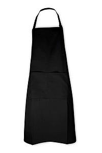 Kuchařská zástěra černá