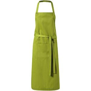 KORINA Kuchyňská zástěra dlouhá, olivová