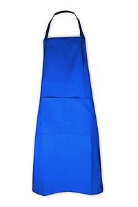 Kuchařská zástěra královská modrá