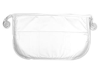 APRIONA Krátká zástěra značky The One, bílá - reklamní trička