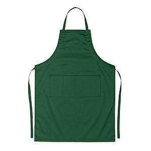 WOJERA Nastavitelná kuchyňská zástěra se dvěma předními kapsami, zelená