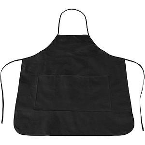 Netkaná kuchyňská zástěra, černá
