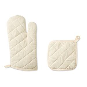 Set kuchařské rukavice a chňapky