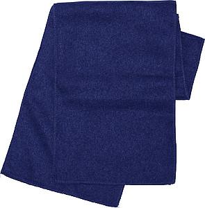 ALPINE fleecová šála , modrá