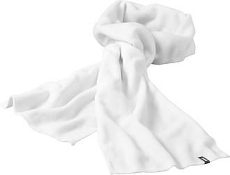 Fleecová šála Elevate 180x26 cm, bílá