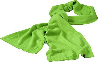 JAREMA Dvouvrstvá akrylová šála Elevate 180x26 cm, světle zelená