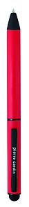PIERRE CARDIN CELEBRATION Kovové kuličkové pero se stylusem, červené