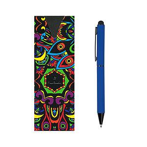 PIERRE CARDIN CELEBRATION Kovové kuličkové pero se stylusem, tmavě modré - psací potřeby