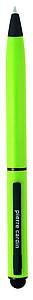 PIERRE CARDIN CELEBRATION Kovové kuličkové pero se stylusem, zelené