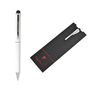 PIERRE CARDIN CLAUDIE Kovové kuličkové pero bílé - psací potřeby