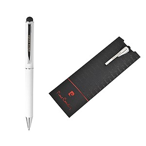 PIERRE CARDIN CLAUDIE Kovové kuličkové pero bílé