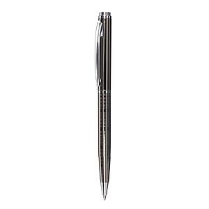 Otočné kuličkové pero s černou náplní, v dárkové krabičce