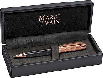 Kul.pero Mark Twain v dárkovém boxu, zlaté detaily, modrá n.