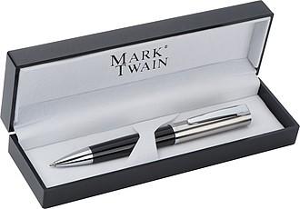Kul.pero Mark Twain černostříbrné v dárkové krabičce