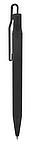 Jednoduché kuličkové pero s klipem, černá
