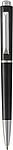 Plastové KP s černou náplní a stříbrnými doplňky, černé