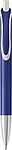 STILGAR Plastové KP se stříbrnými detaily, modrá náplň, modré